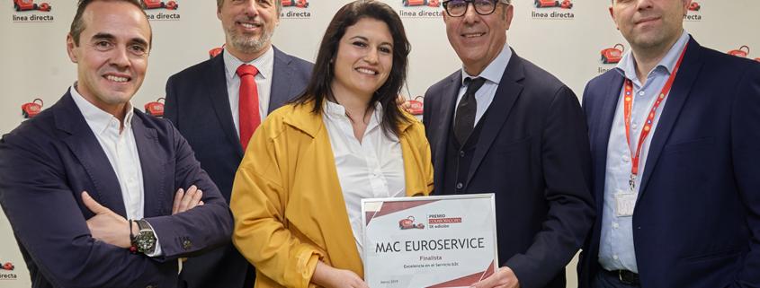 Mac Euroservice premio colaboradores Linea Directa