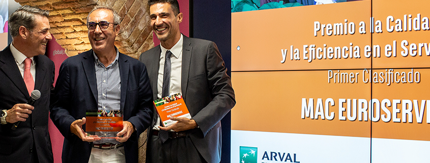 Mac Euroservice premio Mejor Taller Multimarca ARVAL